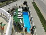 Гостевой дом «7-я миля» (Сукко): Вид с террасы на бассейн