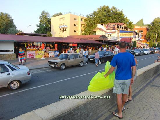 Улица Гребенская в Анапе