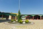 """Площадка перед вход в аквапарк """"Тики-Так"""" в Джемете"""