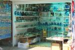 Торговая лавка с морскими сувенирами в Джемете