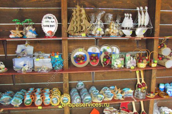 Какие подарки и сувениры привезти из Анапы