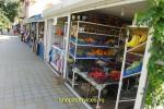 Торговые палатки в Джемете