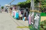 Уличная торговля на ул. Черноморской в Витязево