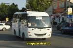 Остановка маршрутки №124 в Анапе