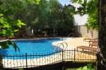 Открытый бассейн в отеле «Приобье» в Джемете